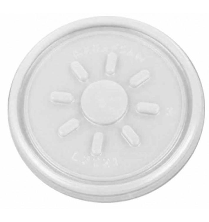 Couvercle en Plastique PS Trans. Isotherme Ø7,4cm (1.000 Unités)