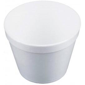 Pot en Foam Blanc 24OZ/710ml Ø12,7cm (25 Unités)