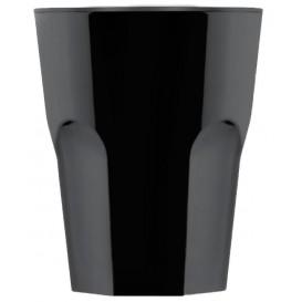 Verre Réutilisable SAN à Shot Noir 40ml (6 Utés)