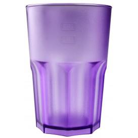 Verre Réutilisable SAN Frost Violet Transp. 400ml (75 Utés)