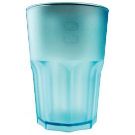 Verre Réutilisable SAN Frost Turquoise 400ml (75 Utés)