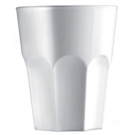 Verre Réutilisable SAN Granity Blanc 400ml (5 Utés)