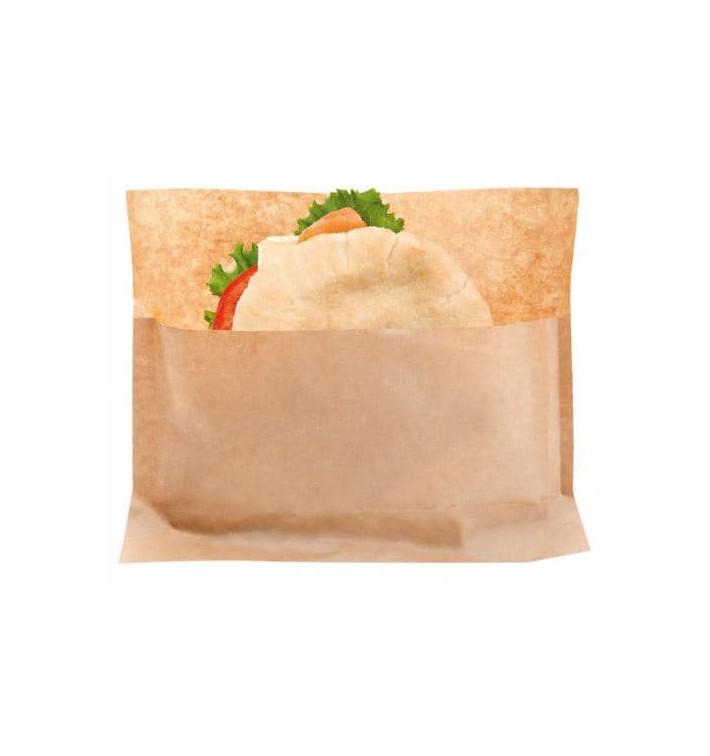 Sachet pour Sandwich Naturel Kraft 21x17/11x3cm (2400 Utés)