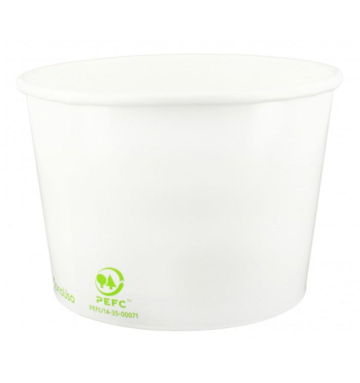 Pot à glace en Carton Ecologique 260ml (1320 Unités)