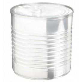 Boîte de Conserve Transparente PS 220ml Ø7,4x7cm (100 Utés)