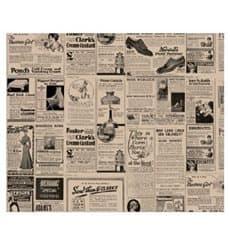 Papier Ingraissable Kraft Journaux 28x34cm (4000 Utés)