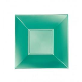 Assiette Plastique Creuse Verte Nice Pearl PP 180mm (300 Utés)