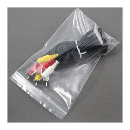 Sac en PE Fermeture Zip 18x25cm G160 (1000 Utés)