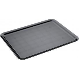 Plat Tray Noir 37x50cm (4 Utés)