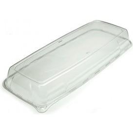 Couvercle Plastique pour Plateau 17x45x5cm (25 Unités)