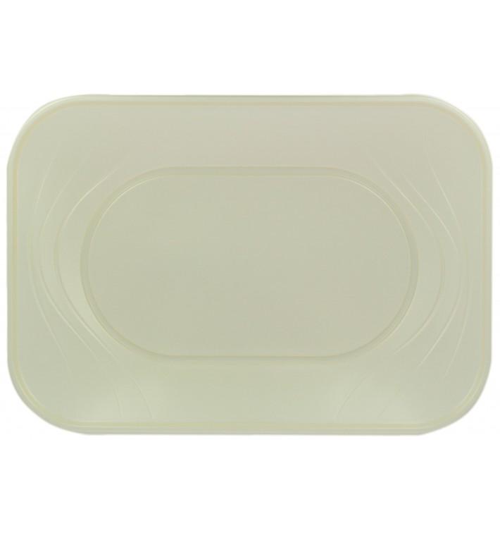 """Plateau Plastique PP """"X-Table"""" Perle 330x230mm (60 Utés)"""