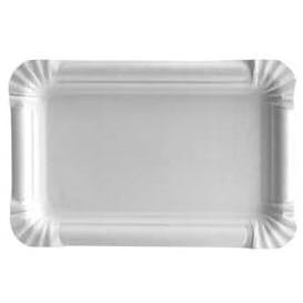 Plat rectangulaire en Carton Blanc 12x19 cm (1000 Utés)