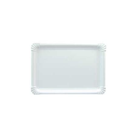 Plat rectangulaire en Carton 25x34cm (200 Unités)