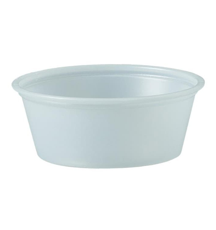 Pot en Platique PS à Sauce 44ml Ø62mm (2500 Utés)