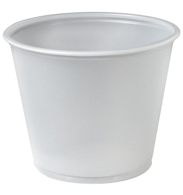 Pot à Sauce Plastique PS Trans. 165ml Ø7,3cm (250 Utés)