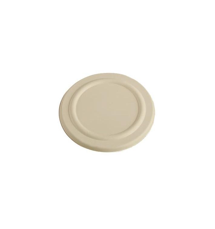 Couvercle en Canne à Sucre Naturel pour pot 425ml Ø95mm (50 Utés)