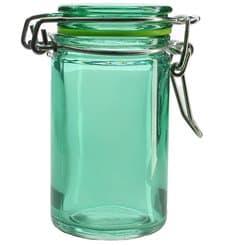 Bocal en Verre Hermétique en Vert 70 ml (32 Utés)