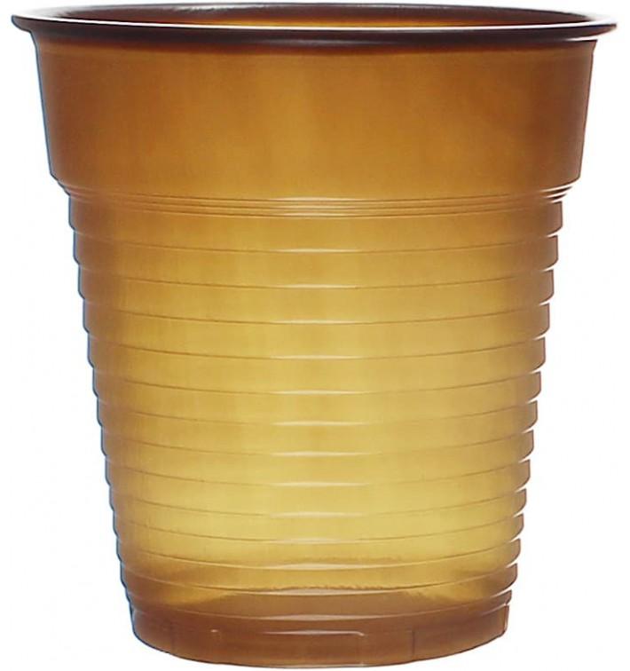 Gobelet Plastique Vending Marron 166ml Ø7,0cm (100 Utés)