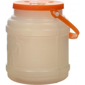 Bouteille Translucide Couvercle et Anse 500 ml (10 Utés)