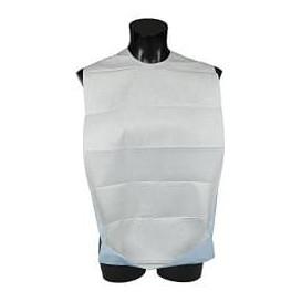 Bavoir Adulte avec poche Blanc Economique 36x65cm (500 Utés)