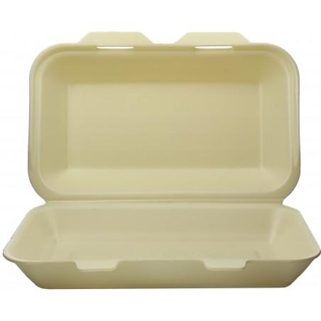 Boîte en FOAM LunchBox Champagne 240x155x70mm (500 Utés)