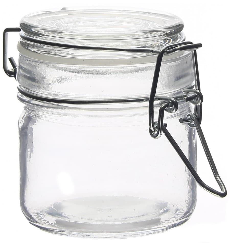 bocal en verre herm tique 80 ml 6x7 cm 48 ut s monouso. Black Bedroom Furniture Sets. Home Design Ideas
