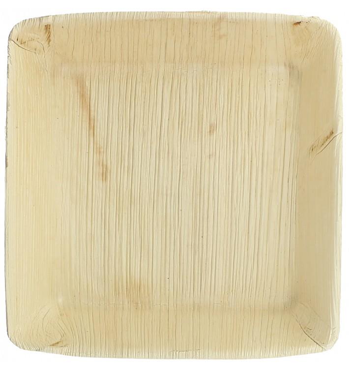 Assiette Creuse en Feuilles de Palmier 16x16cm (100 Unités)