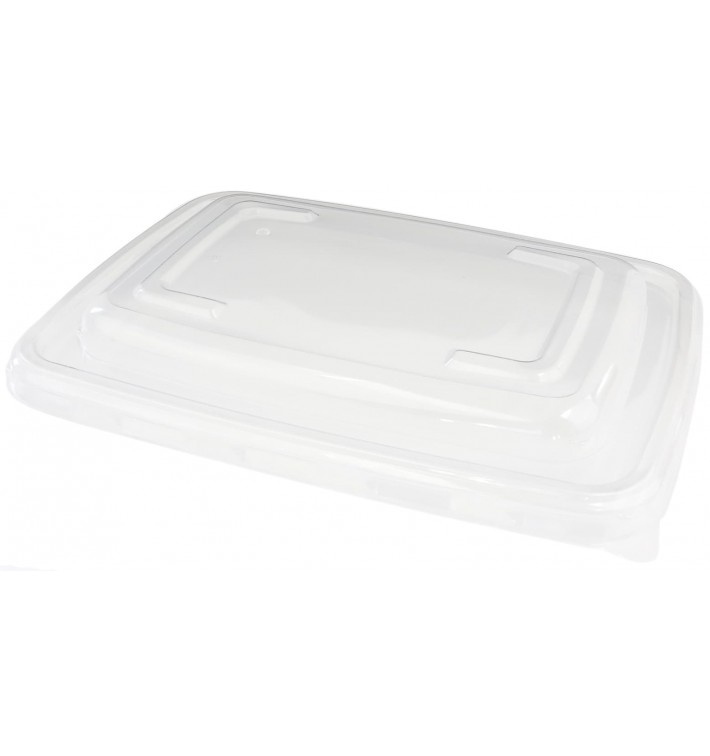 Couvercle en Plastique PP pour Barquette 230x165mm (150 Utés)