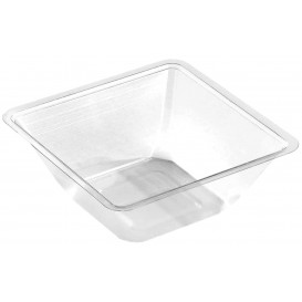 Bol mini en Plastique PET Thermo-Scellable 175ml 90x90x40mm (600 Utés)