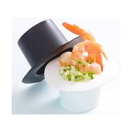 "Sombrero Dégustation""Hot Form"" Blanc PP 60ml (24 Utés)"