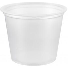 Pot à Sauce Plastique PP Trans. 165ml Ø7,3cm (2500 Utés)