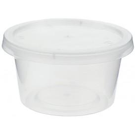 Pot à Sauce Plastique PP avec Couvercle 120ml (100 Utés)