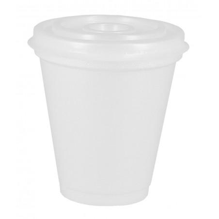 Gobelet Foam 200ml BLANC + Couvercle (800Utés)
