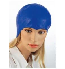 Bonnet à mèches en polyéthylène Bleu (50 Utés)