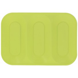"Plateau  PP ""X-Table"" 3C Citron vert 330x230mm (30 Utés)"