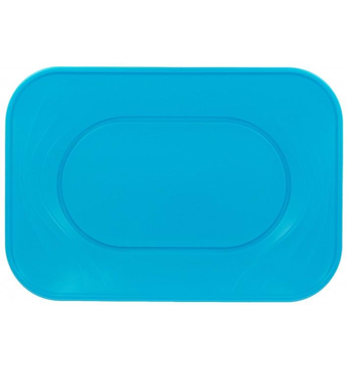 """Plateau Plastique PP """"X-Table"""" Turquoise 330x230mm (2 Utés)"""
