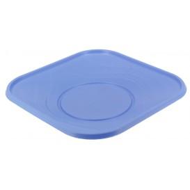 """Assiette Plastique PP """"X-Table"""" Violet 230mm (8 Utés)"""