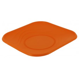 "Assiette Plastique PP ""X-Table"" Orange 180mm (8 Utés)"
