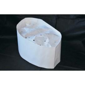 Calot Cuisinier Papier Blanc (100 unités)