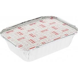 Couvercle Carton Barquette Aluminium 360ml (100 Utés)