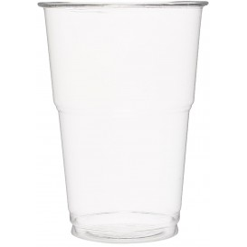 Gobelet Plastique PET Cristal 350ml Transparent (50 Unités)