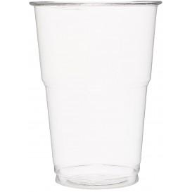 Gobelet Plastique PET Cristal 350ml Transparent (85 Unités)