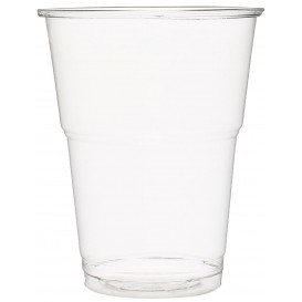 Gobelet Plastique PET Cristal 285ml Transparent (50 Unités)