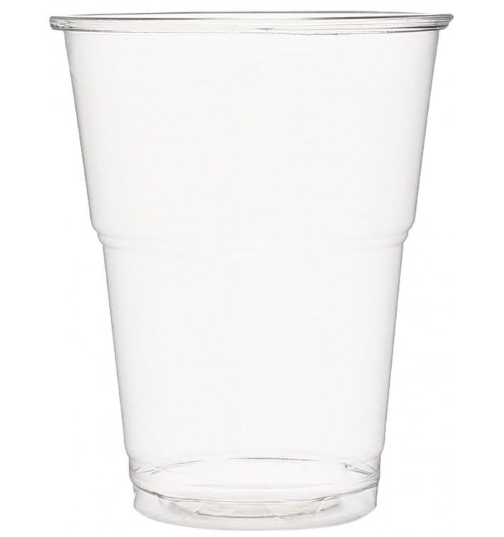 Gobelet Plastique PET Cristal 285ml Transparent (50 Unités)