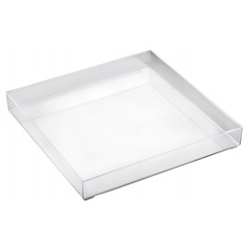 Plat Tray Transparent 30x30cm (1 Uté)