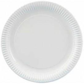Assiette en Carton Ronde Blanc 230 mm (100 Unités)
