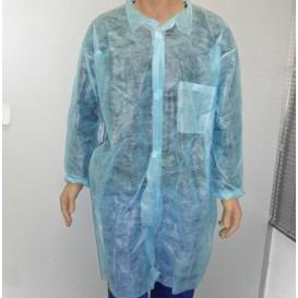 Blouse PP Bleu Velcro et Avec Poches XL (1 Uté)