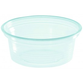 Pot à Sauce Plastique PS Trans. 50ml Ø7cm (50 Utés)