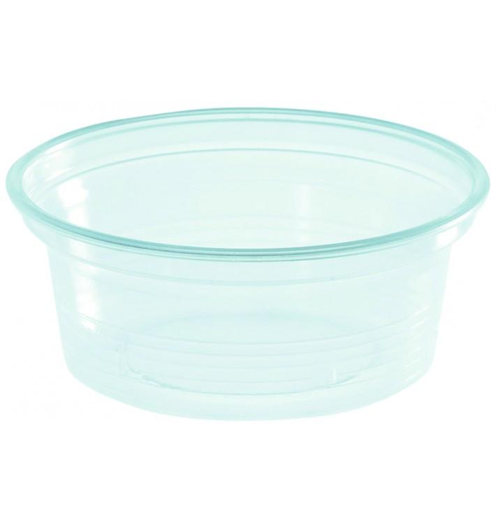 Pot à Sauce Plastique PS Trans. 50ml Ø7cm (50 Utés)