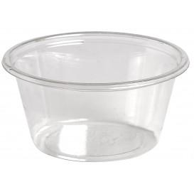 Pot à Sauce Plastique rPET Cristal 60ml Ø6,2cm (2500 Utés)